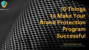 10 Things to Make Your Brand Protection Program Successful